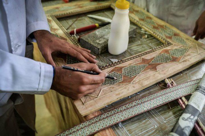 کارگاه خاتم کاری اصفهان