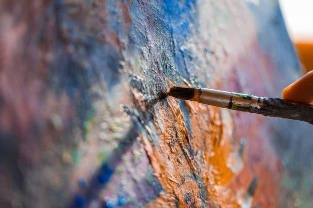 نقاشی رنگ روغن مدرن دنیای خلاقیت است