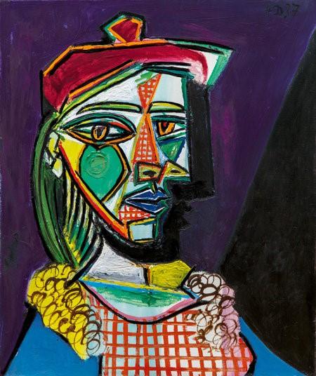 پیکاسو از سردمداران نقاشی رنگ روغن مدرن