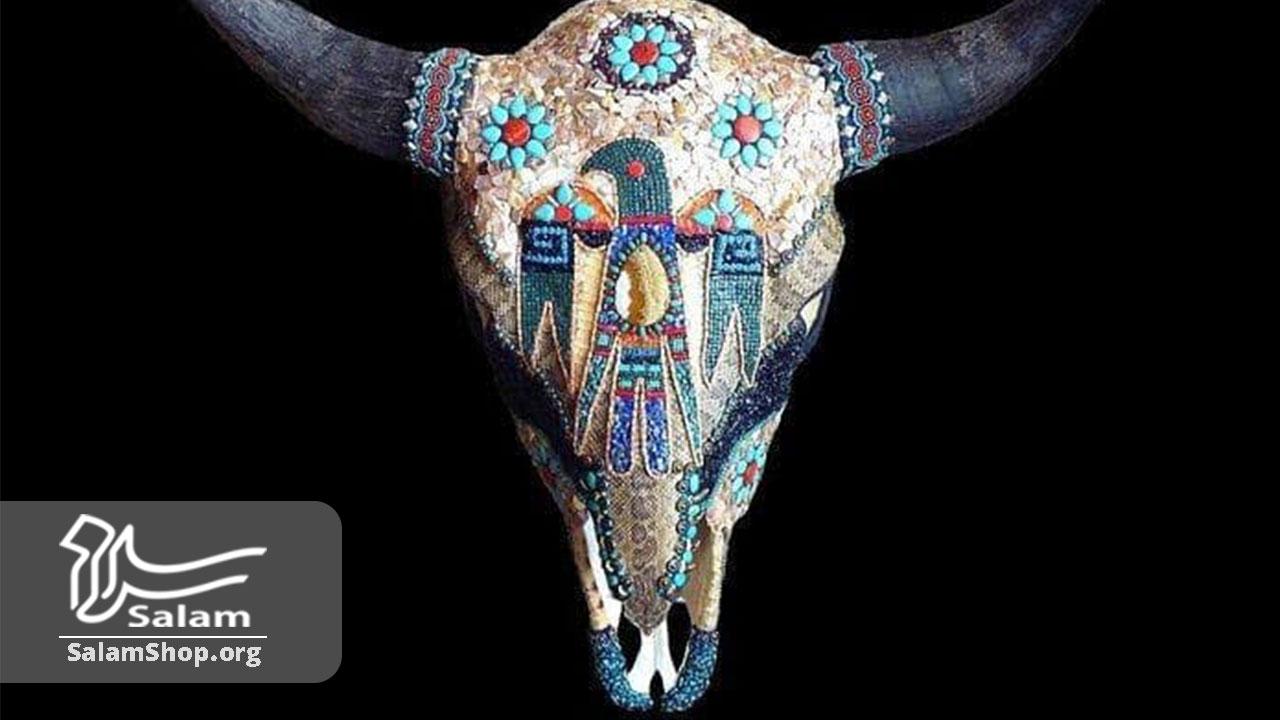 استفاده از اسکلت و استخوان در صنایع دستی