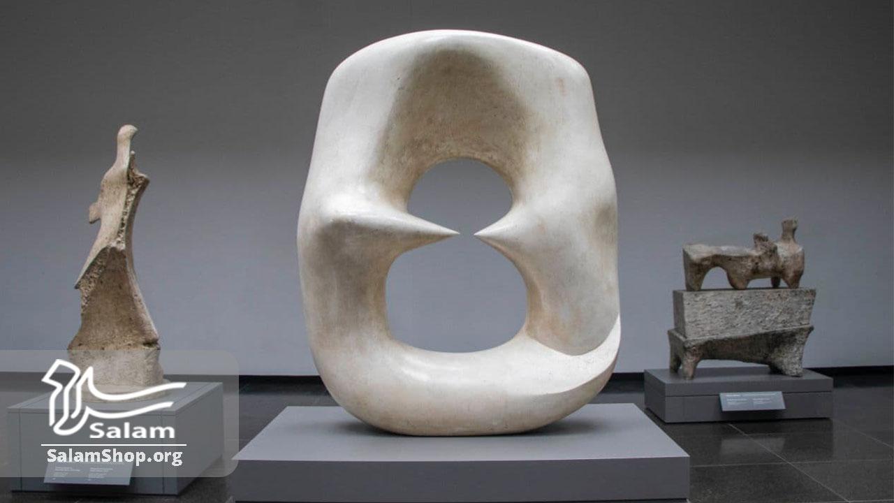 انواع مجسمه مدرن با استخوان