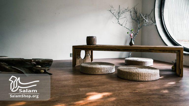 استفاده از صنایع دستی چوبی در محیط باعث زیبایی میشود.