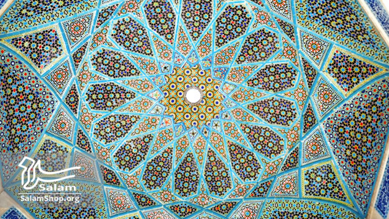 کاشی در صنایع دستی شیراز