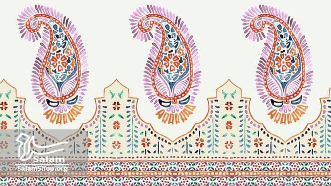 نقش بته جقه در انواع هنرهای دستی