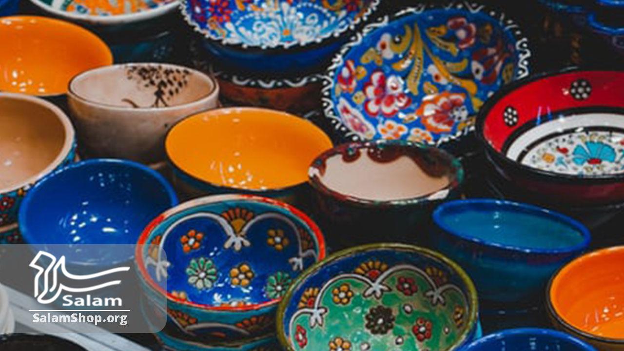 انواع ظروف میناکاری