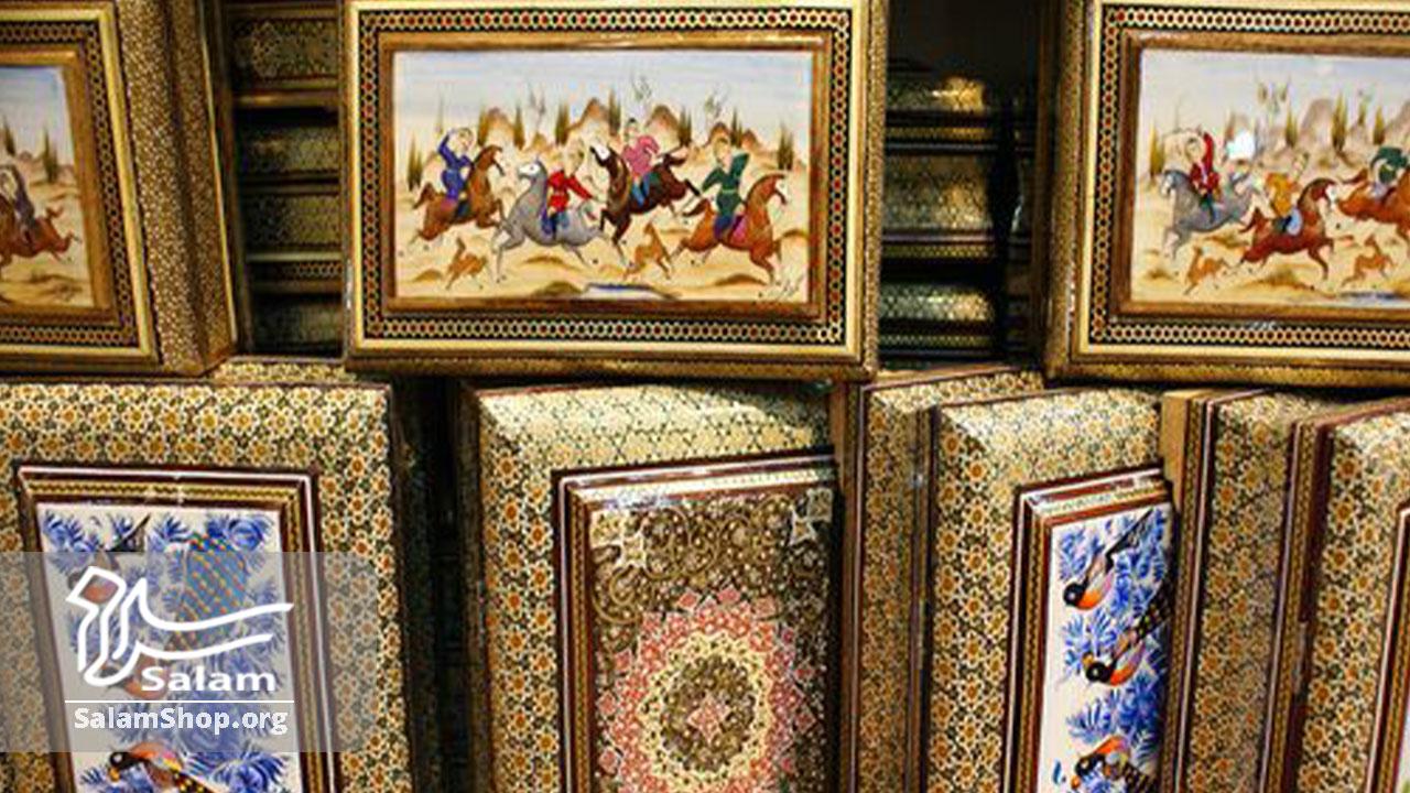 خاتم کاری از صنایع دستی محبوب و لوکس ایرانی است.