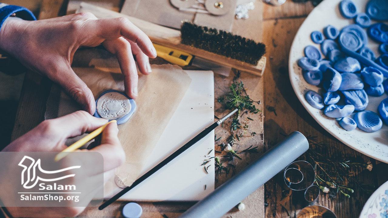مراحل تولید و فروش صنایع دستی