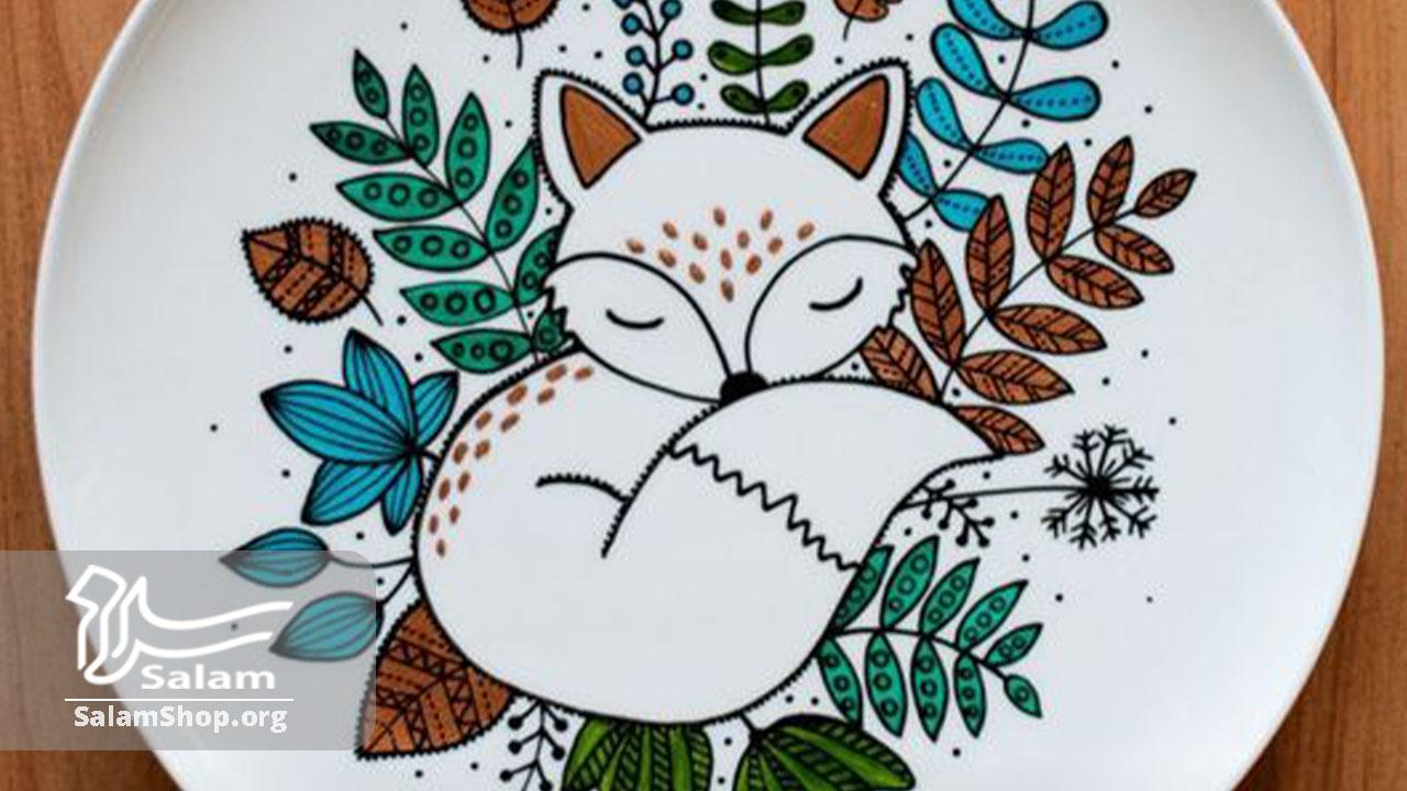 طرح نقاشی روی سفال برای کودکان