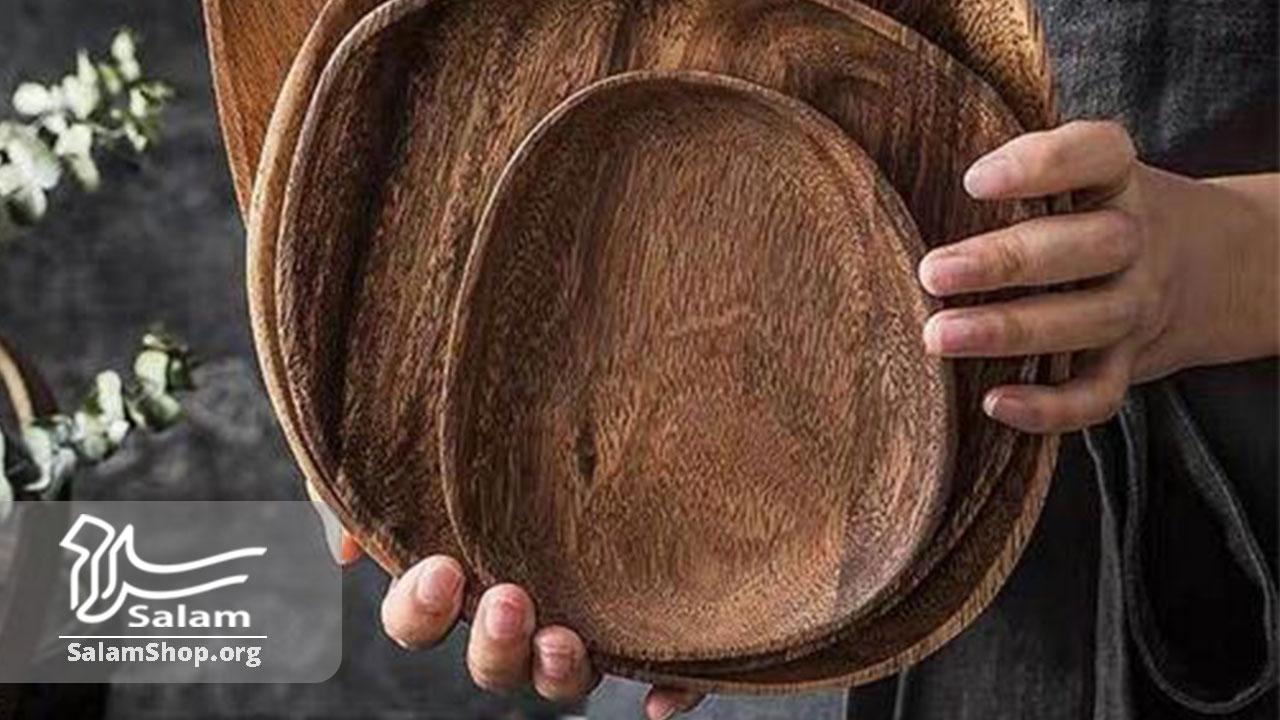 استفاده از ظروف چوبی برای غذا
