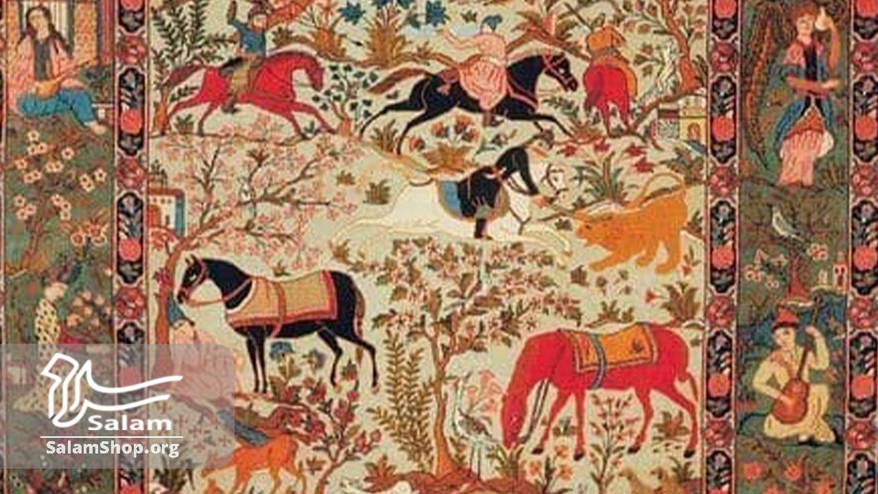 فرش برای هدیهي صنایع دستی
