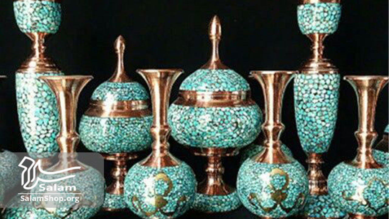 فیروزه کوبی به عنوان صنایع دستی کادویی